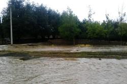 کراپشده - طغیان رودخانه