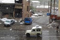 خەساری ۳۵ ملیاری و داخرانی رێگاکان به هۆی بارینی باران و بهفر