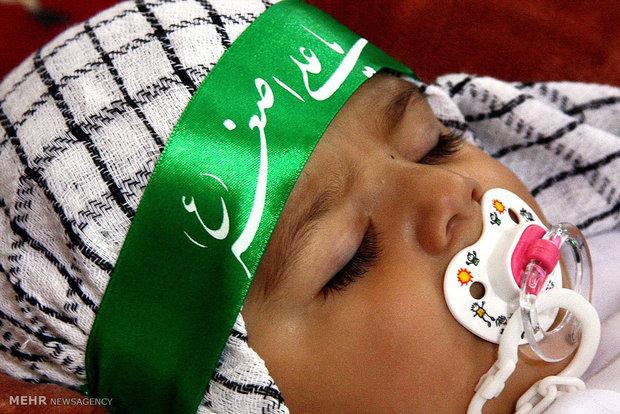 همایش شیرخوارگان حسینی در اشتهارد