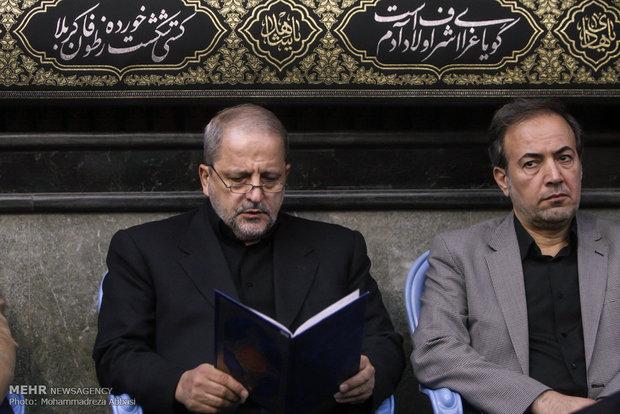 مراسم تأبين الشهيد حسين همدانيی