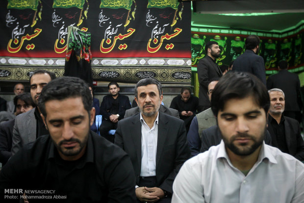 مراسم تأبين الشهيد حسين همداني