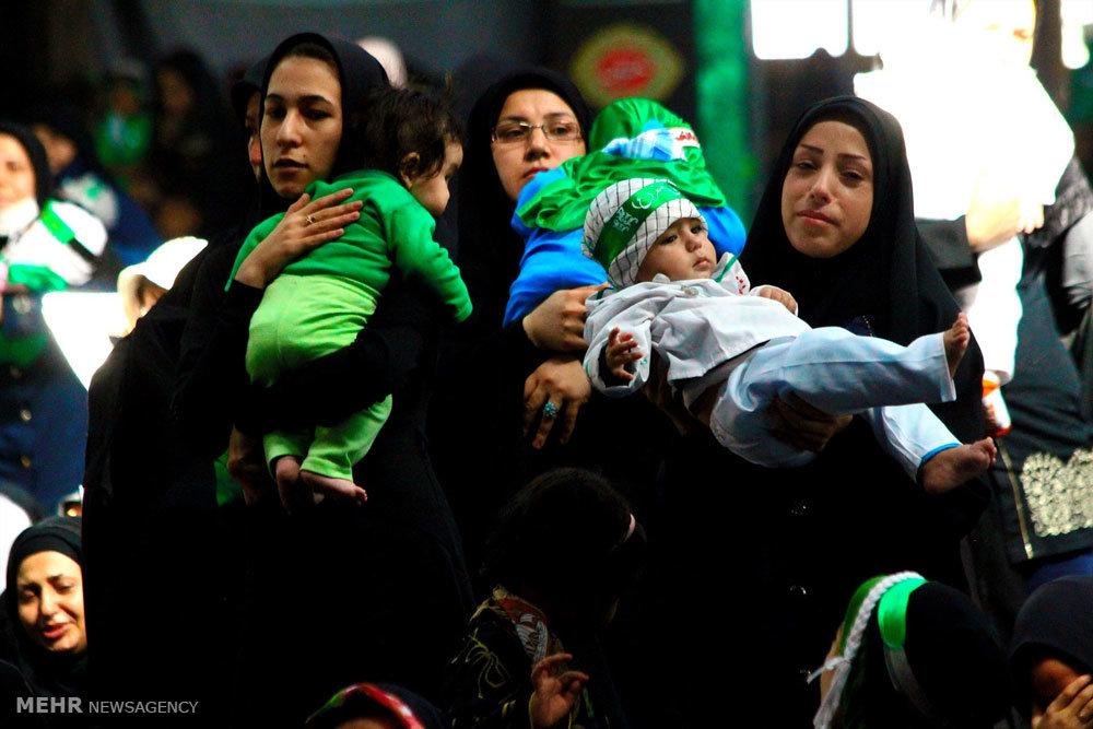 عکس های شیرخوارگان حسینی