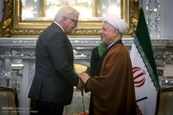 دیدار وزیر امور خارجه آلمان با رئیس مجمع تشخیص مصلحت نظام