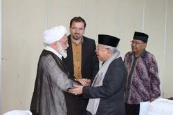 سخنرانی رئيس كميسيون برنامه و بودجه در مركز اسلامی جاکارتا