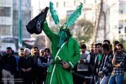 برگزاری رپرتوار تئاتر خیابانی «دفاع مقدس» و «حماسه حسینی»