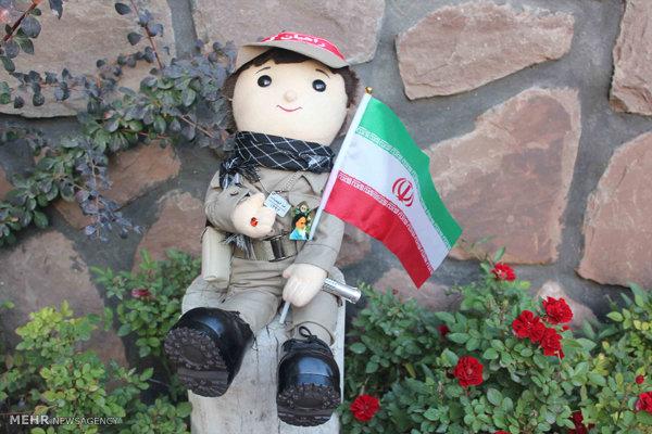 عروسک ایرانی کالای ایرانی تولید ملی
