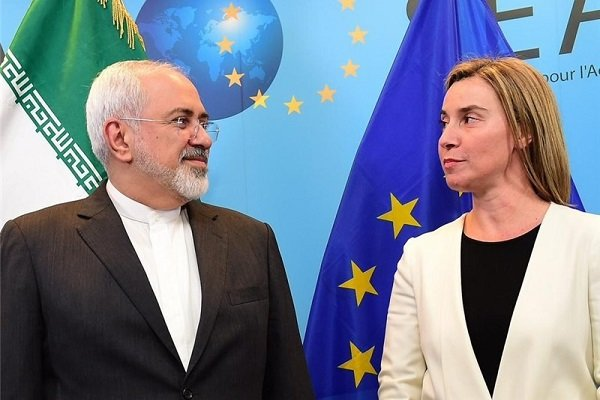 Iran FM Meets Mogherini as Part of Efforts to Save Nuclear Deal