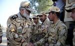فرمانده نیروی زمینی ارتش ایران وارد چذابه شد