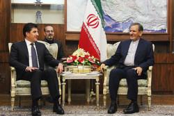 دیدار نخست وزیر اقلیم کردستان عراق با معاون اول رییس جمهور