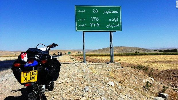 1876158 - خاطرهنگاری زن موتورسوار از سفر به ایران
