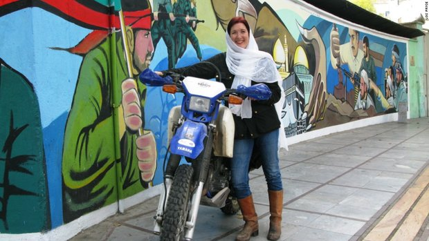 1876166 - خاطرهنگاری زن موتورسوار از سفر به ایران