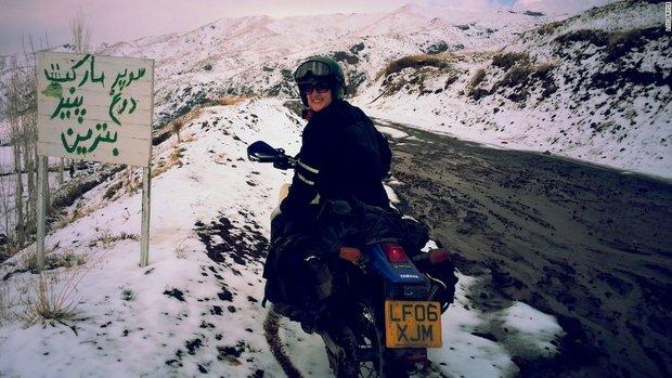 1876169 - خاطرهنگاری زن موتورسوار از سفر به ایران