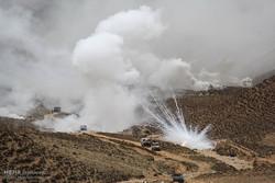 Muharram military drill in Bojnord