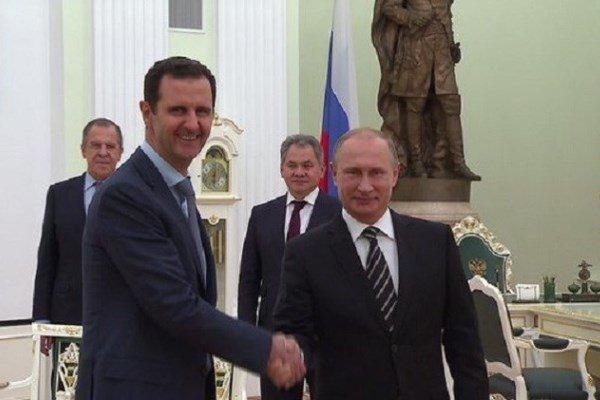 بشار اسد و پوتین