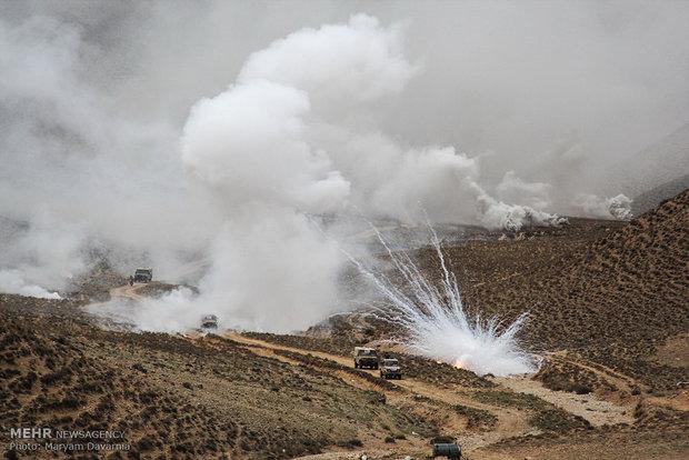 """اجراء مناورات """"إلى بيت المقدس"""" العسكرية الكبرى في محافظة كردستان"""