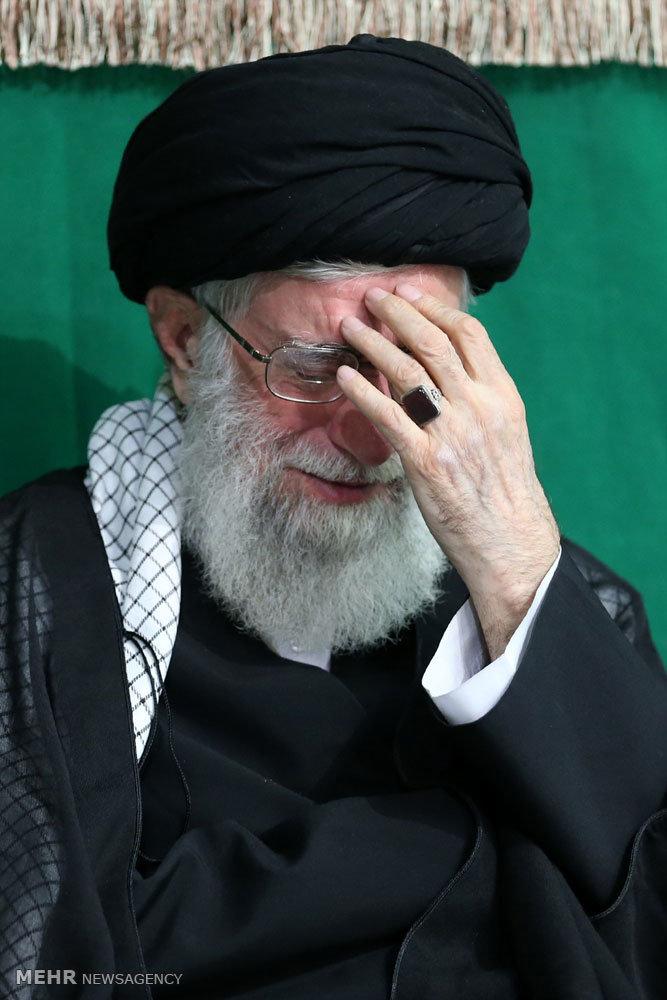 اولین شب عزاداری ایام محرم ۱۴۳۷ در حسینیه امام خمینی(ره)