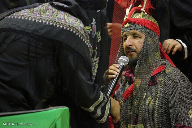 اجرای تعزیه دو طفلان مسلم