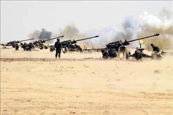 شامی فوج نے حمص کے علاقہ مہین میں  وہابی دہشت گردوں پر کاری ضرب وارد کی