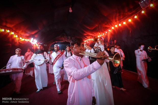 عزاداری شب تاسوعای حسینی در کربلای معلی