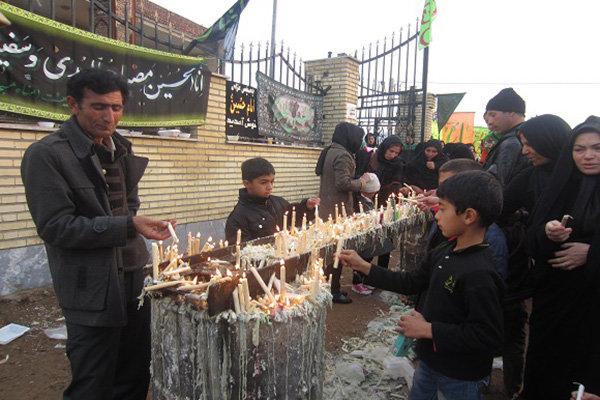 شمعگردانی؛ آئین هزار ساله در اردبیل/۴۱ مسجد میزبان عاشقان عباس