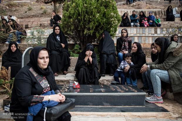 مراسم عزاداری تاسوعا در شهرک هرزویل شهر منجیل استان گیلان