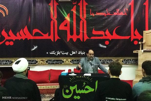 Imam Hussein mourning procession in Belgium