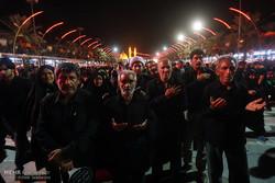 کربلائے معلی میں شام غریباں کی عزاداری