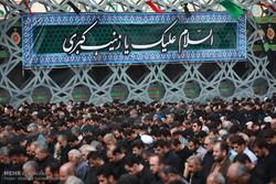 یوم عاشور کے موقع پر تہران میں عزاداری