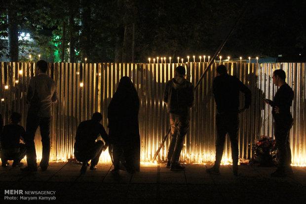 آئین عزاداری شام غریبان در تهران