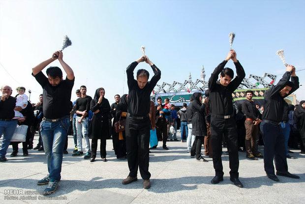 عزاراداری عاشورای حسینی در تهران