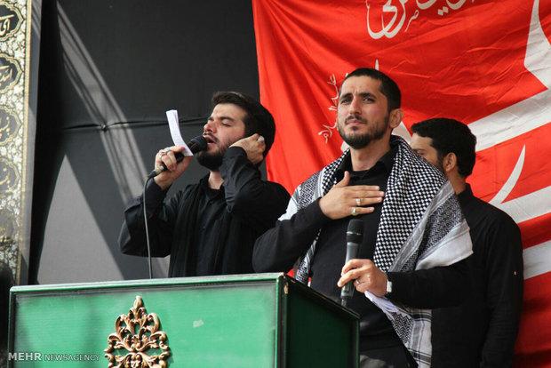 مراسم عزاداری عاشورای حسینی در تهران