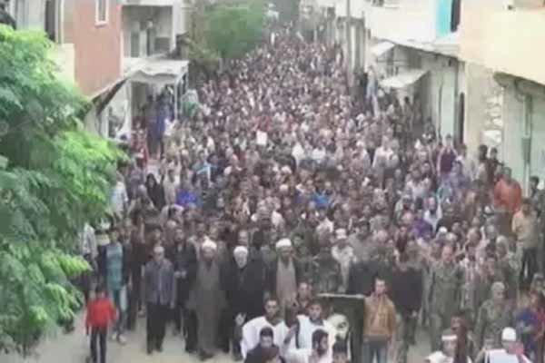 اقامة مراسم عاشوراء في شمال سوريا