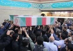 پیکر ۲ شهید گمنام در شهر «گودین» کنگاور تشییع میشود