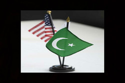 پرچم آمریکا و پاکستان