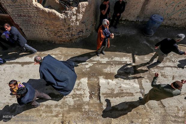 آیین چغچغه زنی در روستای انجدان