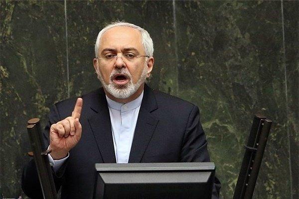 ظريف : الاجواء الهادئة ما بعد الاتفاق النووي ناجمة عن مقاومة الشعب للحظر