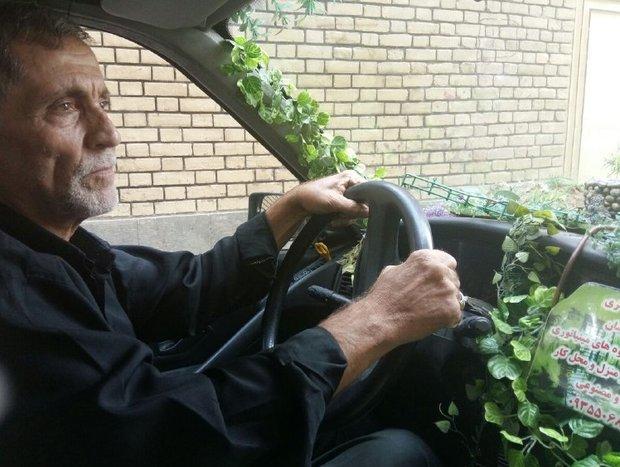 سبزترین تاکسی ایرانی