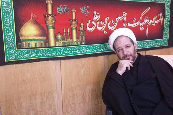 حجت الاسلام رضا جعفری مدیر گروه معارف شبکه یک