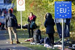 عبور مهاجران از اسلوونی