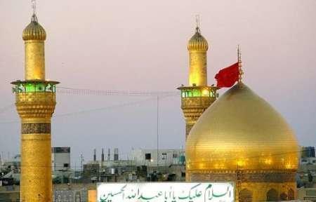 رفع الرايات الحسينية على الحدود الايرانية-العراقية
