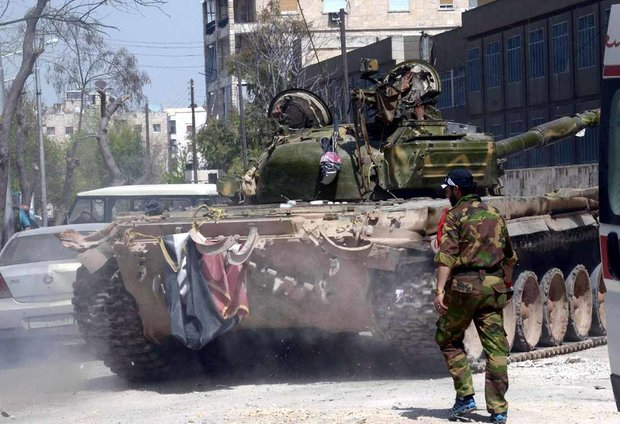 Army destroys terrorists' positions, supply routes in Daraa