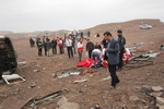 سانحه محور مهران-دهلران ۲ کشته و ۷ زخمی برجای گذاشت