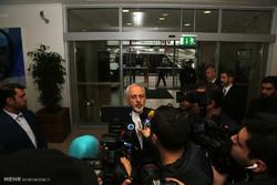 ورود وزیر امورخارجه و هیات همراه به وین