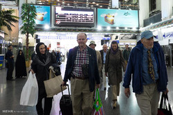ورود توریست های آلمانی به تهران