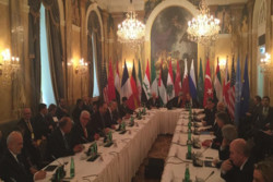 شام کی صورتحال پر ویانا میں مذاکرات جاری