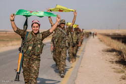 داعش کے خلاف جنگ میں کرد پیش مرگہ فورس میں خواتین کا کردار