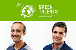 2 Iranians win Germany's 'Green Talents' award