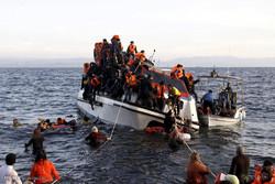غرق شدن پناهجویان ذدر دریای اژه