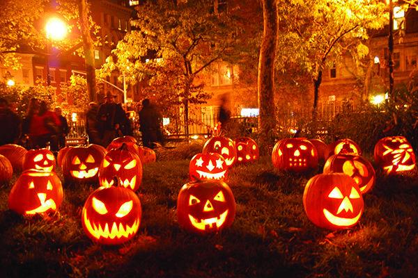 نتیجه تصویری برای هالووین در غرب