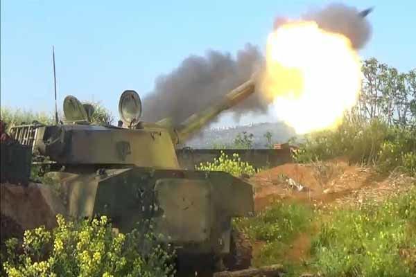 شامی فوج کی برق رفتار پیشقدمی جاری/200 کلو میٹر علاقہ پر کنٹرول حاصل